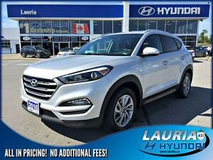2016 Hyundai Tucson 2.0L AWD Premium - Backup camera / Power sea