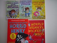 Horrid Henry book collection 5 books