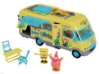 New SpongeBob SquarePants Camper Van Toy Playset Inc Sponge Bob & Patrick Figure