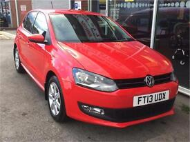 VOLKSWAGAN POLO 1.2 Match 5dr RED