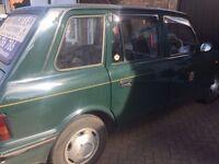 2001 London Hackney Taxi For Scrap