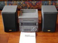 Sony mini hi-fi system