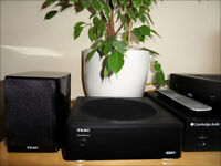 2.1 compact passive speaker system Teac LS-WH01 (real HiFi)