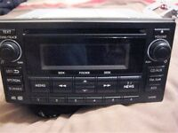 NEW SHAPE SUBARU IMPREZA BLUETOOTH RADIO CD CLARION, 86201FG320