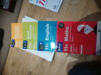 11+ - 12+ unused workbooks BOND assessment papers, books 1