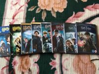 Harry Potter DVD complete set