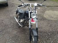 Good little chopper pulls well and has very low millage for its age