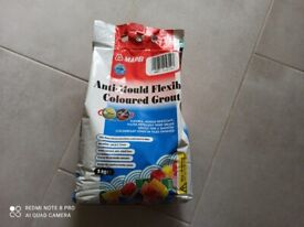 Mapei Anti-Mould Wall and Floor Flexible Coloured Grout 5kg