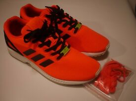 Adidas ZX Flux 9 UK Running Shoes OG BOX