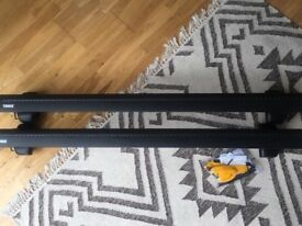 Thule Wingbar Roof Rack to fit Audi A3 Sportback 2011