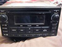 NEW SHAPE SUBARU IMPREZA BLUETOOTH RADIO CD CLARION, 86201FG320