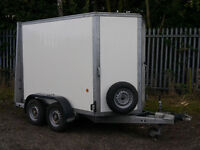 Ifor Williams BV85G Twin Axle Box Trailer for Sale