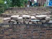 YORKSHIRE STONE, collection from Roundhay. IDEAL FOR GARDEN DECORATION/WALL. £25.