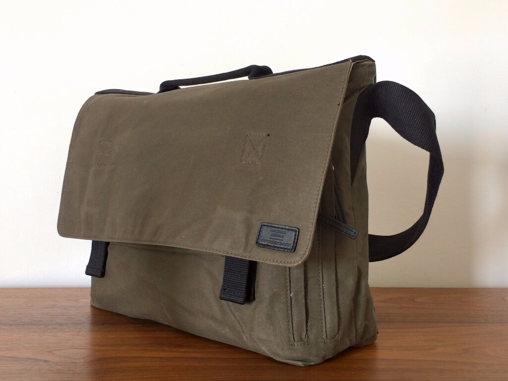 NEW 'Country Road' - Australian brand - olive canvas satchel ...