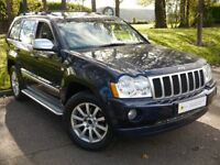 ONLY 51K*** Jeep Grand Cherokee 3.0 CRD V6 Overland 4x4 5dr ***TOP OF THE RANGE** FREE AA WARRANTY*