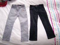 2 pairs of girls Laura Ashley trousers