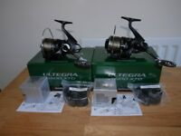 Shimano Ultegra 5500XTD reels x2...carp fishing tackle