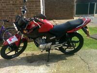 Yamaha YBR 125cc model 2013 7000mile