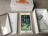 16gb iPhone 6s+ Plus factory unlocked boxed rose gold fully working and excellent condition