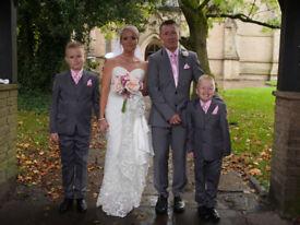 House of Nicholas Wedding Dress size 8-10