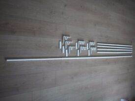 IKEA Curtain rods, clips and brackets