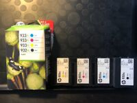 HP 933XL cartridges (full set)