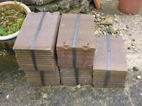 60 Unused clay roof tiles 30 degree pitch
