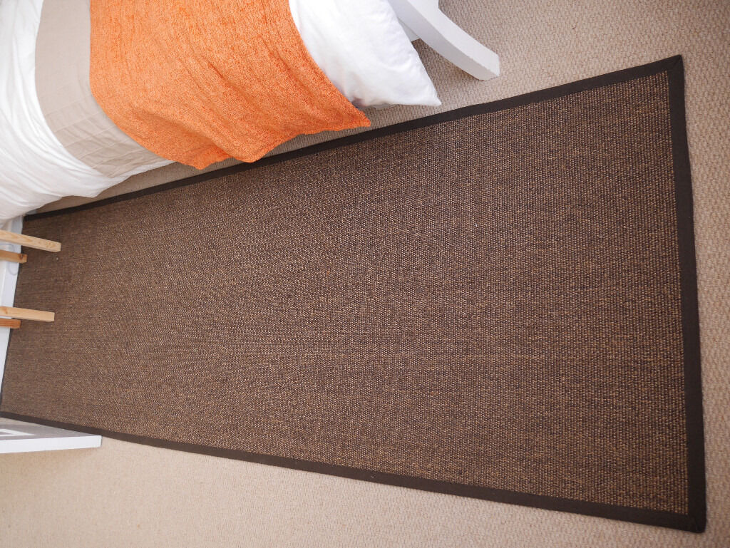 Brown ikea osted rug hardly used in cheltenham for Linoleum ikea
