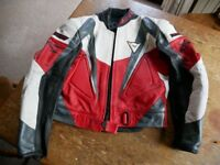 Dainese two piece racing leathers