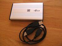 External USB Drive (500Gb)