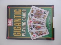 Large A4 size playing cards unopened -New