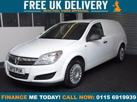 Vauxhall Astra 1.7 CDTi ecoFLEX 16v Club Panel Van 2013 low miles
