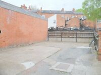 Three vacant off road parking spaces available on Princess Road West in Leicester City Centre