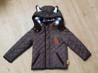 Boys Gruffalo Coat Age 3-4