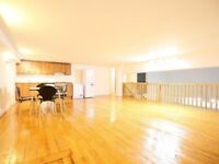 Huge warehouse in Stoke Newington with large spare room