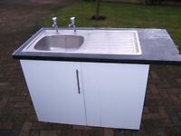 Kitchen Unit & Sink