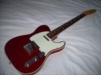 Fender Telecaster Custom. Crafted in Japan.