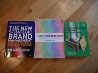New-Uni of Strathclyde Business school textbooks