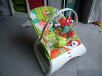 Used - Fisher-Price Woodland Friends Comfort Curve Bouncer