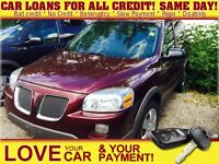 2009 Pontiac Montana SV6 FWD * CAR LOANS FOR ALL CREDIT SITUATIO