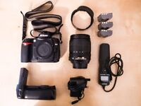 Nikon D90 with 18-105mm plus extras