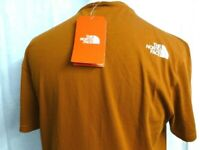 """Genuine The North Face Men's T Shirt Size L """"Caramel Cafe"""" Colour Brand new with tags"""