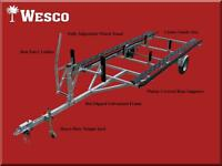 NEW 2013 Wesco Pontoon Boat Trailer - Winterpreis