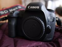 Canon 5D mark III camera + accessories (2 batteries, 64gb card, viewfinder)