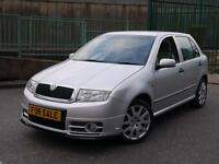 SKODA FABIA VRS 1.9TDI - 1 YEAR MOT - F.S.H - 2 KEYS - HPI CLEAR - CHEAP BARGAIN MPS VXR VW GOLF GTI