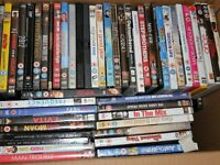 96 mixed titles DVDs for sale - We are having a clear out - £20 for the lot