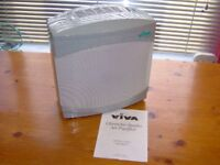 HEPA Air Purifier with Ioniser, carbon filter & Instructions