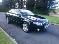 2006 AUDI A4 TDI SE...MOTD...FULL SERVICE HISTORY...FULL LEATHER...MINT CONDITION...