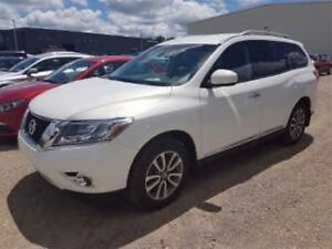 2013 Nissan Pathfinder SL V6 AWD! 7-PASS! LEATHER! $94/WK, 4.74%