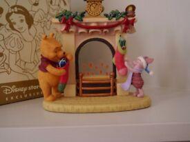 Disney Store Winnie the Pooh and Piglet tea light holder